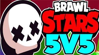 5v5 BRAWL STARS w MOLT!