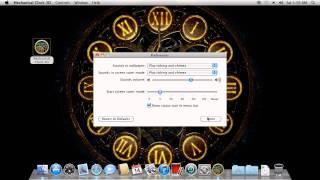 Mechanical Clock 3d For Mac Os X