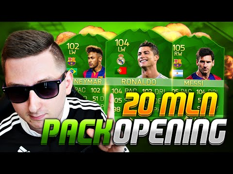 🔥KARTY 100+ OVERALL TRAFIONE   20 MLN PACK OPENING!🔥
