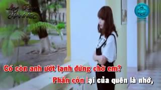 [Karaoke Beat HD] Ngày Hôm Qua Đã Từng - Mờ Naive