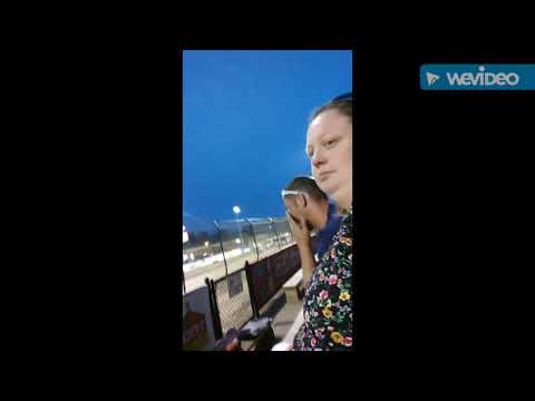 The Eldora speedway two videos in one (a car fliped) \a racing clip