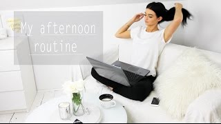 My afternoon routine | k.els.e.y