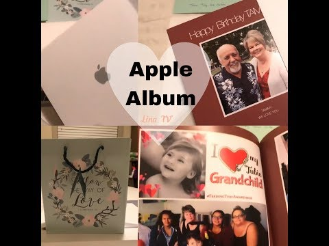 Apple Album Is Perfect Birthday Gift To My Sister In Law Order By Me Lina