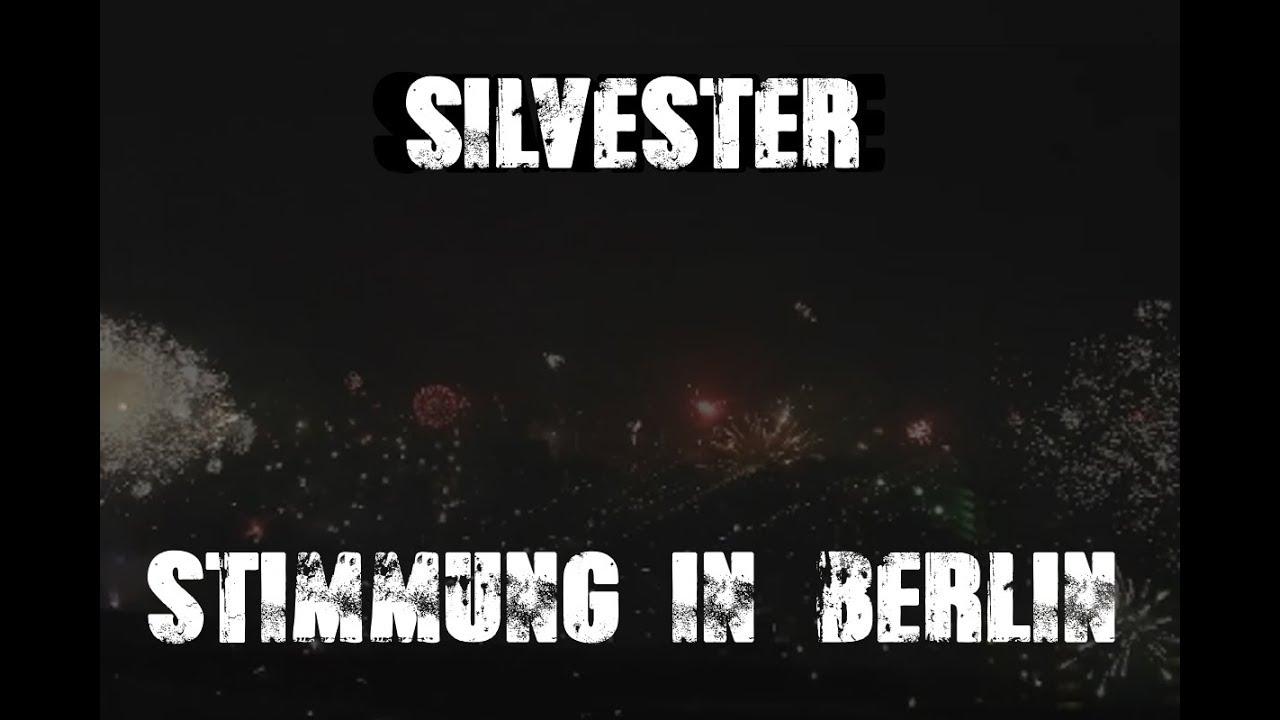 Silvesterstimmung um Null Uhr in Berlin