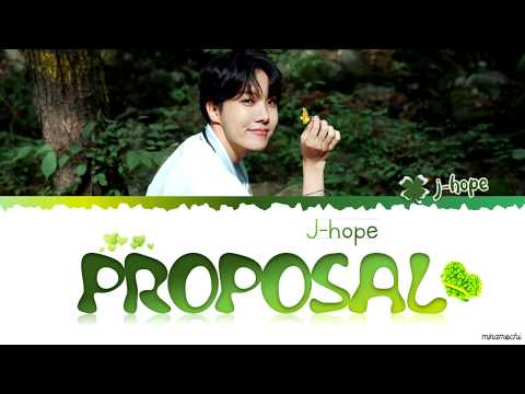☘️ BTS J-Hope - 'Proposal' (청혼) (Cover) Lyrics [Han_Rom_Eng]
