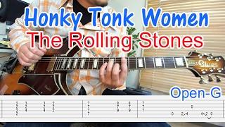 ロックギター初心者のために「Honky Tonk Women/The Rolling Stones(ホ...