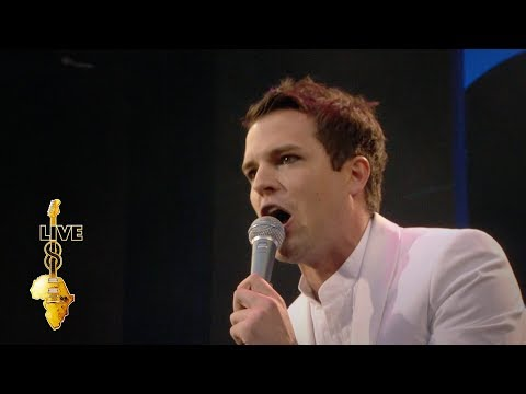 The Killers - All These Things That I've Done (Live 8 2005)