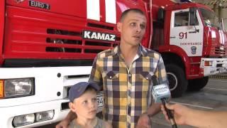 Нижнекамские пожарные  организовали  праздничное мероприятие  будущим первоклассникам