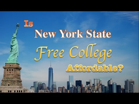New York State Excelsior Program: Is Free Tuition Affordable?