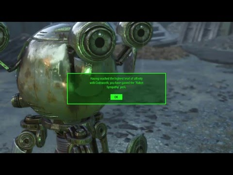 robot sympathy perk
