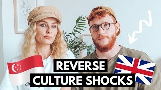 Reverse Culture Shocks In The UK! Singapore Back To UK