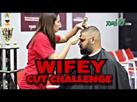 Wifey cut challenge response to Chris Bossio