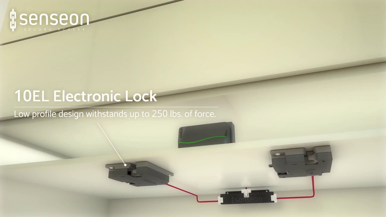 Learn How Senseon Electronic Locks Work with RFID Technology | Concealed  Into Your Design