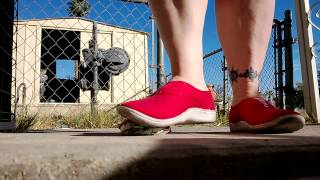 Can Crush in Red Tennies