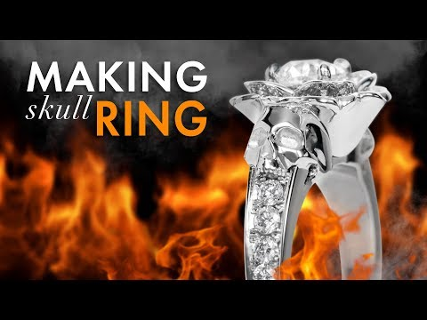 Making A Skull Engagement Ring