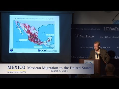 Mexican Migration to the United States with David Fitzgerald  --  20 Years After NAFTA