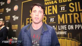 "Chael Sonnen ""That whole Fedor thing is a gimmick; Wand will be out of there in 5 mins"""