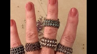 Interlace Band Ring - A Bronzepony Beaded Jewelry Design