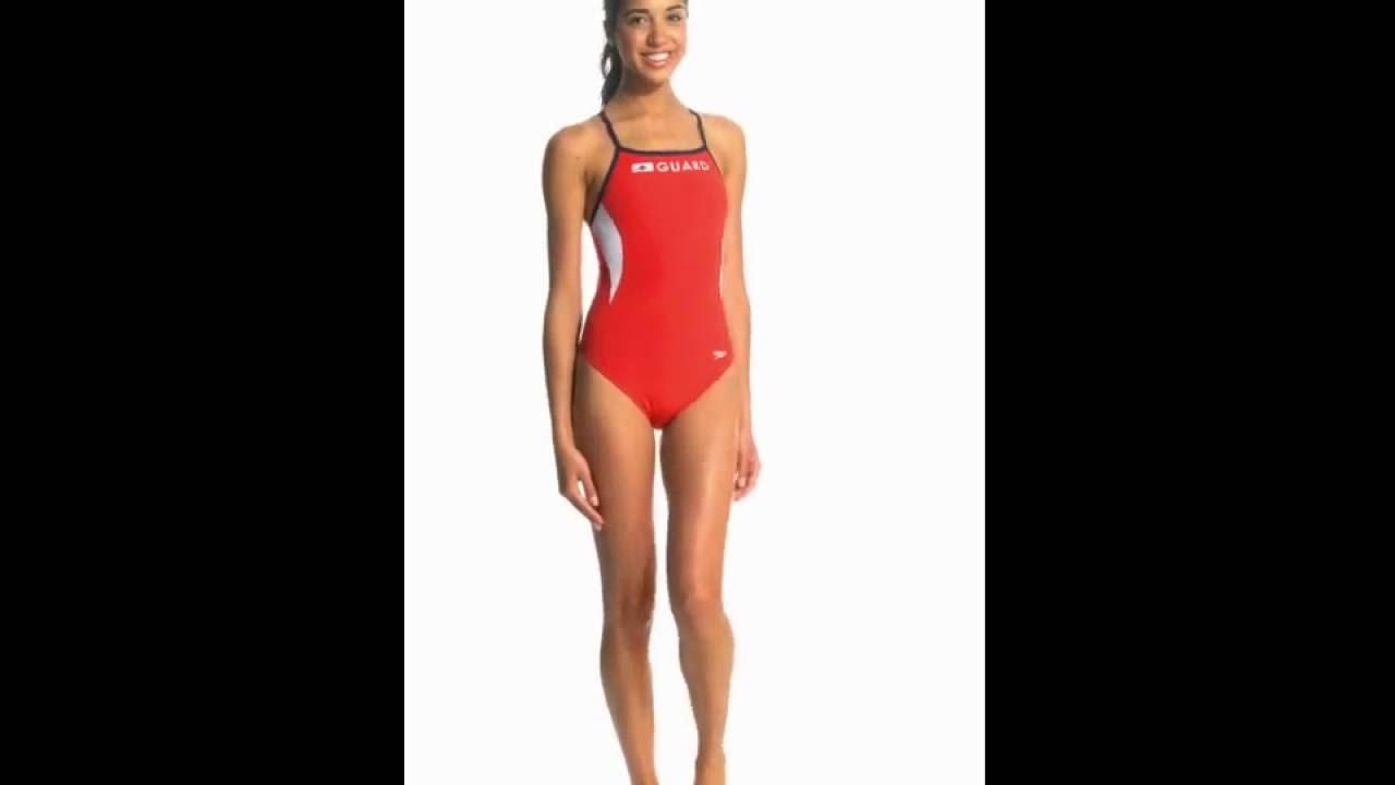 4a796980bbec2 Speedo Lifeguard Energy Back One Piece Swimsuit | SwimOutlet.com ...