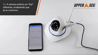 Como Instalar Câmera Sem Fio IP Wireless