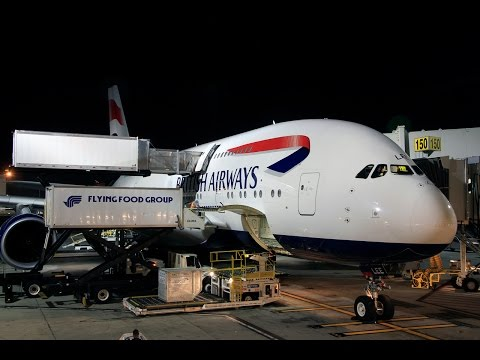 British Airways | Airbus A380 | LAX-LHR | World Traveller Plus