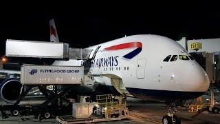 British Airways | Airbus A380 | LAX-LHR | World Traveller Plus