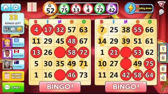 Bingo Holiday:Free Bingo Games (tournament) game play