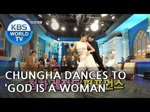 Chungha dances to God is a Woman by Ariana Grande [Happy Together/2019.02.07]