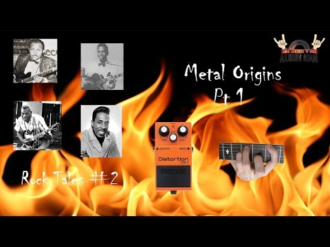 """Metal Origins Pt1 - """"Distorted Guitars and Power Chords in the 1950s?"""" - Rock Tales #2"""