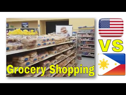 Shopping in the US VS The Philippines - What Filipinos may notice! #FreedomFamily