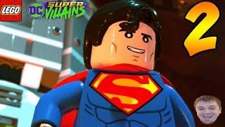 LEGO DC Super-Villains Video Game - PART 2 - Superman! (Let