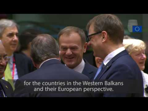 Donald Tusk wraps up March European Council - Highlights