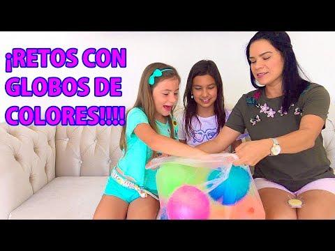 10 GLOBOS CHALLENGE | AnaNana Toys