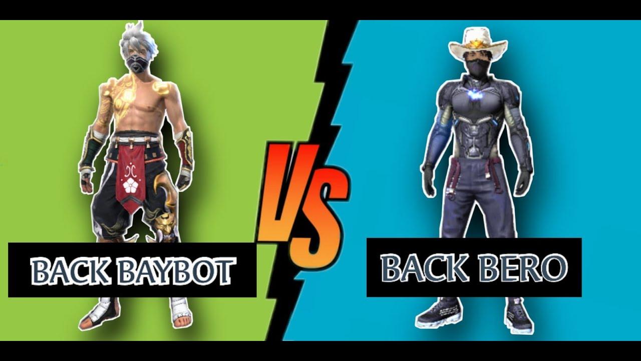 BACK BAYBOT VS BACK BERO
