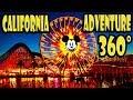 Disney California Adventure 360 Video Walking Tour