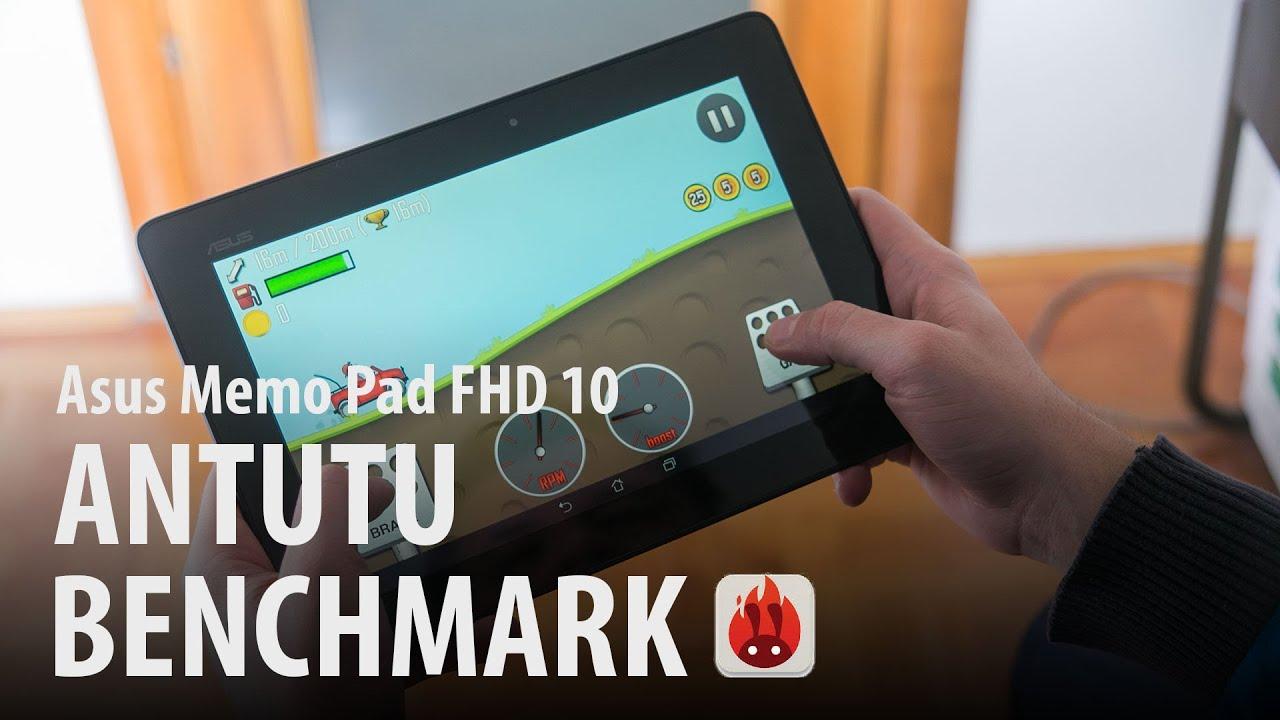 Asus Memo Pad FHD 10 : Antutu benchmark