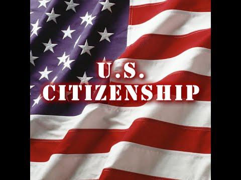 N400 - Citizenship Interview 100 câu hỏi Thi Quốc Tịch Mỹ