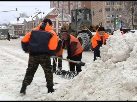 На фото Со снежными заносами в Сергиево-Посадском районе ведётся активная борьба изображение