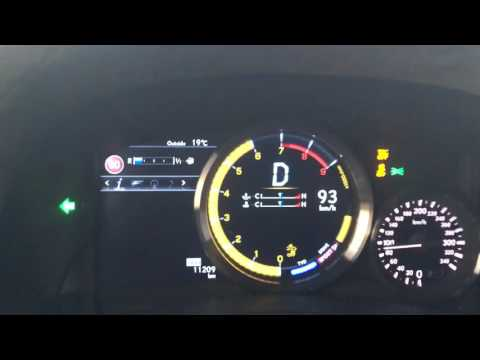 Lexus GS-F 5.0 V8 (477HP) 2016 Acceleration 0-285 KM/H