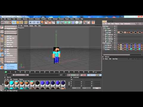 Minecraft Cinema 4D Tutorial Ep. 2