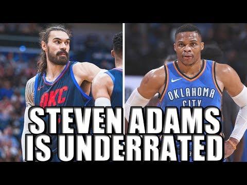 Steven Adams is a STAR for the Oklahoma City Thunder!