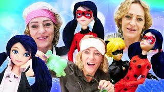 Spielspaß mit Puppen  PlayDoh Slime und Miraculous Ladybug  4 Kindervideos am Stück
