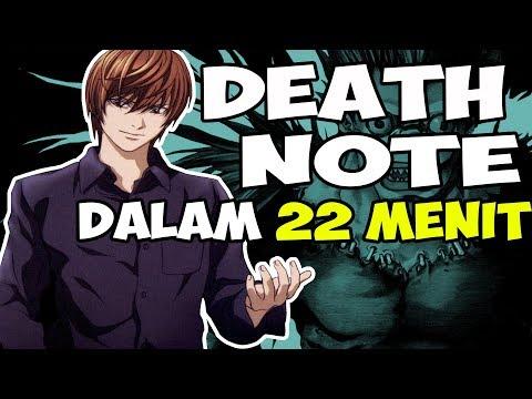 SELURUH CERITA DEATH NOTE DALAM 22 MENIT