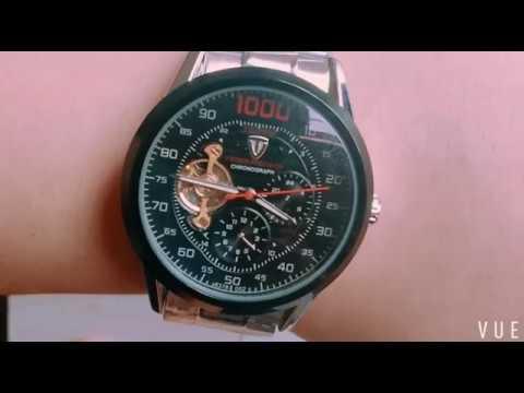 894074e243efe Relógio Masculino Tevise 1000 Automático - YouTube