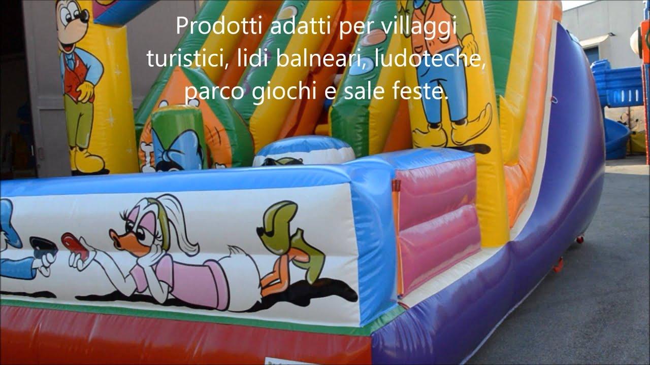 86c1208a35eede Produzione e Vendita Gonfiabili, Playground, Tappeti Elastici, Vasche  Palline per bambini