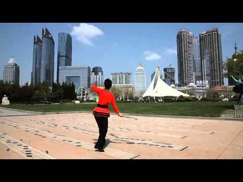 无极健身球第四套_第四套柔力球健身套路《阳光路上》教学(新) - YouTube