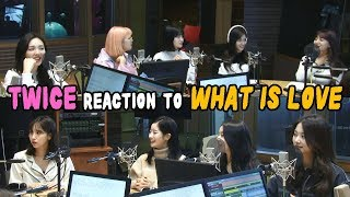 Download Lagu TWICE reaction to TWICE's Song: What Is Love♥ Mp3
