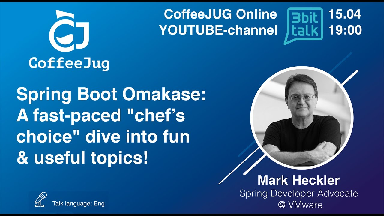 """Spring Boot Omakase: A fast-paced """"chef's choice"""" dive into fun & useful topics 