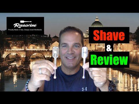 The Razorine Shavette Razor Review and Shave