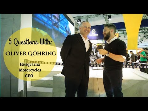 questions with: Husqvarna CEO - Oliver Göhring (Svartpilen ? Electric Husqvarna?)